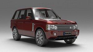 land rover range 2006 3D model