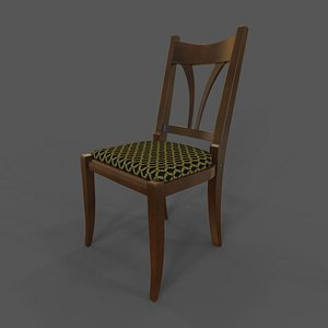 Chair classic style 3D model