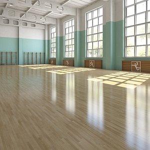 3D Indoor Base Playgraund