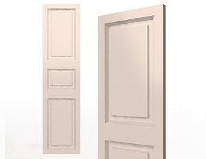 Blinds Wardrobe Door Classic 4 3D model