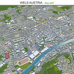 3D Wels Austria model