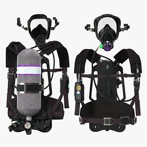 breathing apparatus model