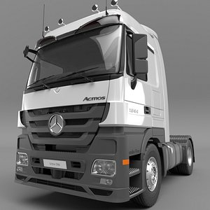 3D 2010-MERCEDES-BENZ-Actros-1844 model