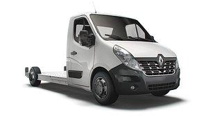 3D Renault Master FWD LL35 L3H1 Platform Cab 2014