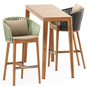 MOOD BAR Chair abd MOOD High Table model