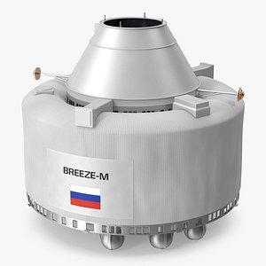 Breeze M Launcher 3D model