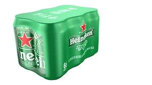 beer heineken 3D