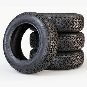 3D tyre car classic