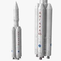 Angara A5 Heavy Lift Launch Vehicle