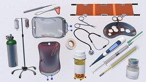 Medical Collection 3 3D model