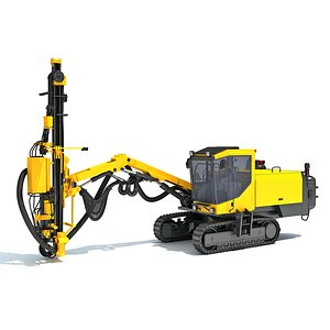 Surface Drill Rig 3D model