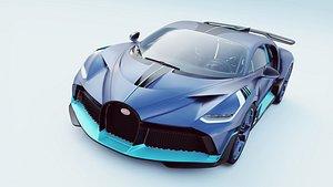 3D model Bugatti Divo