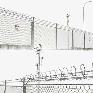 wire fence security camera model