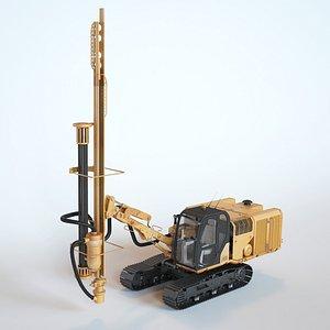 3D Track Drill model