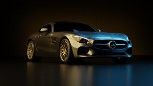 Mercedes AMG gt 3D