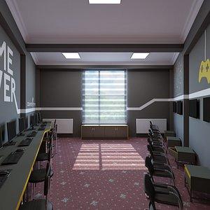 3D pc room corona design