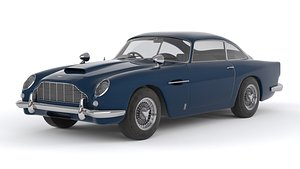 3D model Aston Martin DB 5