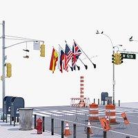 Street set