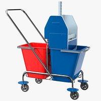 Floor Cleaning Trolley