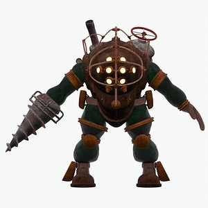 Big Daddy - Bouncer variant from BioShock model