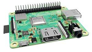 Raspberry pi 3A 3D
