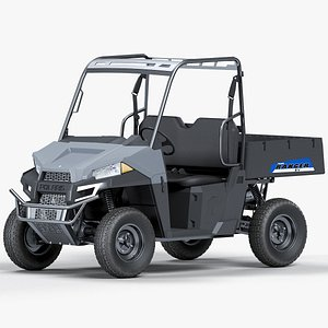 3D utv polaris ranger ev model