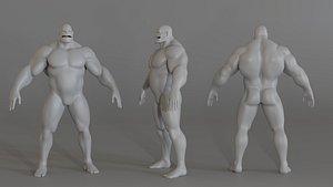 3D Orc Base Mash