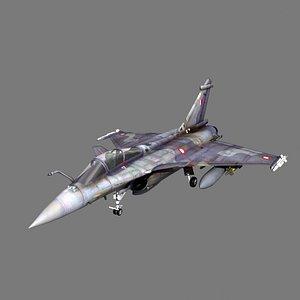 Rafale Qatar 3D model
