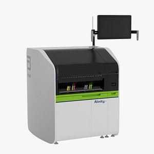 3D model Abbott Alinity c Clinical Chemistry System