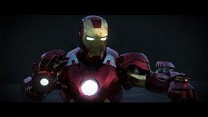 3D model Iron Man - Mk 7