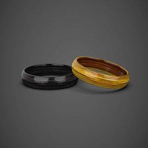3D ring modeled model