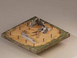 Building Foundation 3 model