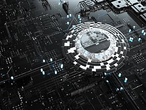 3D CPU Processor AI Technology