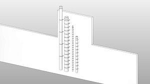 3D Chimney 2 - Full Parametric Revit Family