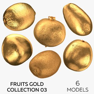Fruits Gold Collection 03 - 6 3D