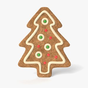 christmas cookie 3D