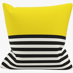 Sofa Pillow V36 3D