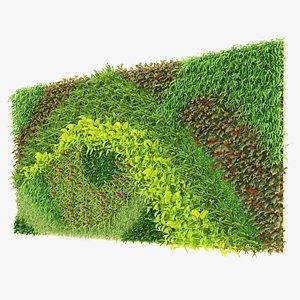 greenwall fitowall V01 by Mehrazvira 3D model