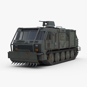 Milittary Intervention Truck Concept model