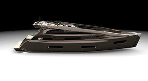 boat ship watercraft 3D model