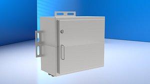 3D Metal Battery Box