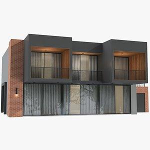 Modern House 04 3D model