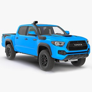 Toyota Tacoma TRD Pro Voodoo Blue 2021 3D model