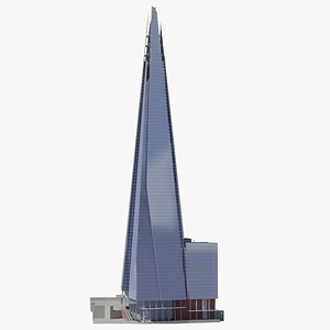 The Shard High Poly 3D model