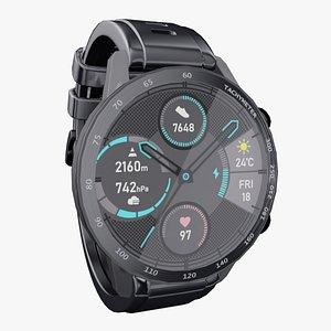 3D waterproof sport watch