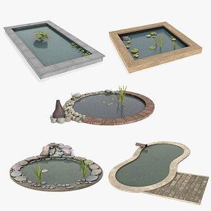 3D Pond Collection model