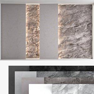 3D Decorative wall panel set 60