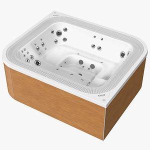 3D Jacuzzi Virtus Hot Tub