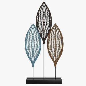 decor leafs 3D model