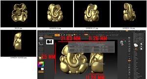 3D Ganesh model